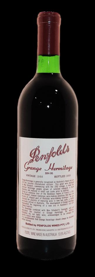 Penfolds Grange Shiraz 1988 (1x 750mL), SA