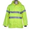 ACE Hi-Viz Breathable All- Weather Jacket, Size S/M (92cm), Zip/Velcro Fron