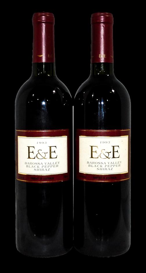 Barossa Valley Estate E&E Black Pepper Shiraz 1993 (2x 750mL), SA