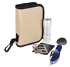 2 x Small Camping Kits with Spoon & Fork Tool, LED Mini Torch & 11-in-1 Mul