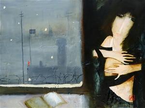 JOHN LENDIS (b.1950) ORIGINAL Oil Painti