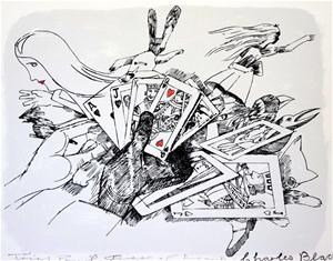 CHARLES BLACKMAN (b.1928-20018) Original