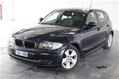 Unreserved 2007 BMW 1 18i E87 Automatic Hatchback