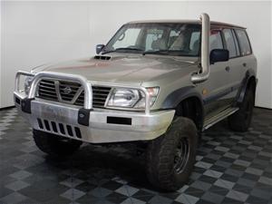 2001 Nissan Patrol ST (4x4) GU II Turbo