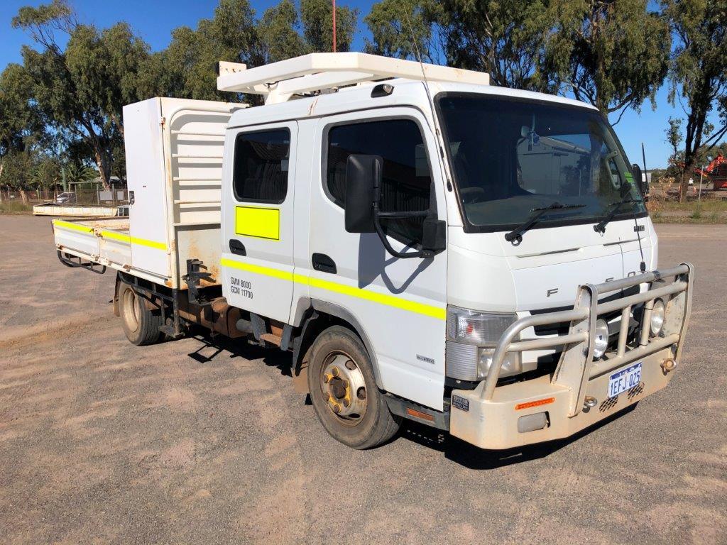 2013 Mitsubishi Canter 4 x 2 Tray Body Truck (Geraldton)