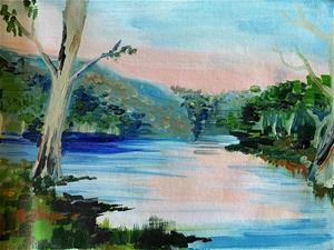 St Georges River, Sydney - Original pain
