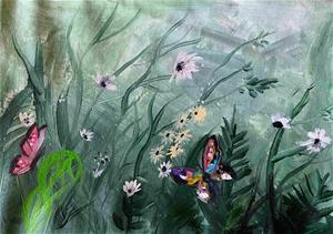 Giving you Butterflies - Original painte