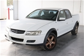 Unreserved 2005 Holden Crewman CROSS 6 VZ Automatic Dual Cab