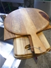 Qty 5 x assorted Wooden Bread / Display Boards