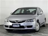 Unreserved 2011 Honda Civic VTi 8TH GEN Automatic Sedan