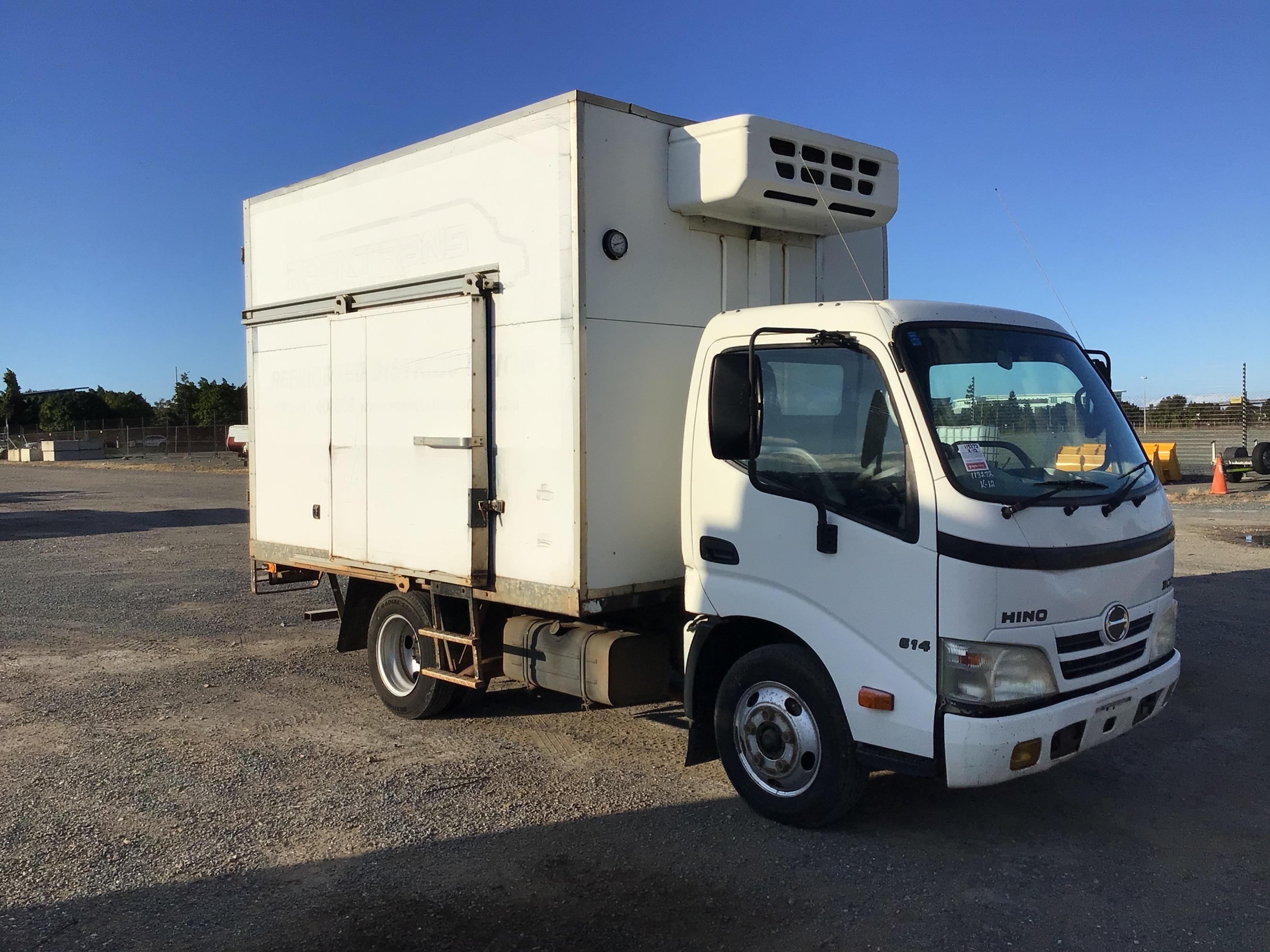 2007 Hino 300 4 x 2 Refrigerated Body Truck