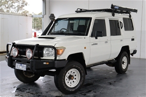 2012 Toyota Landcruiser Workmate 4x4 VDJ