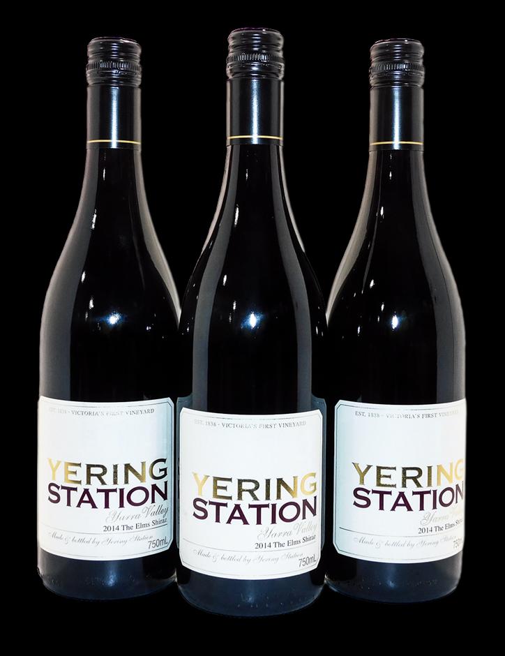 Yering Station The Elms Shiraz 2014 (3x 750mL), Yarra Valley
