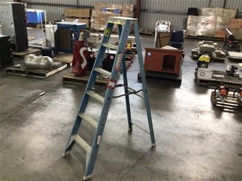 Multiple A-Frame Ladders