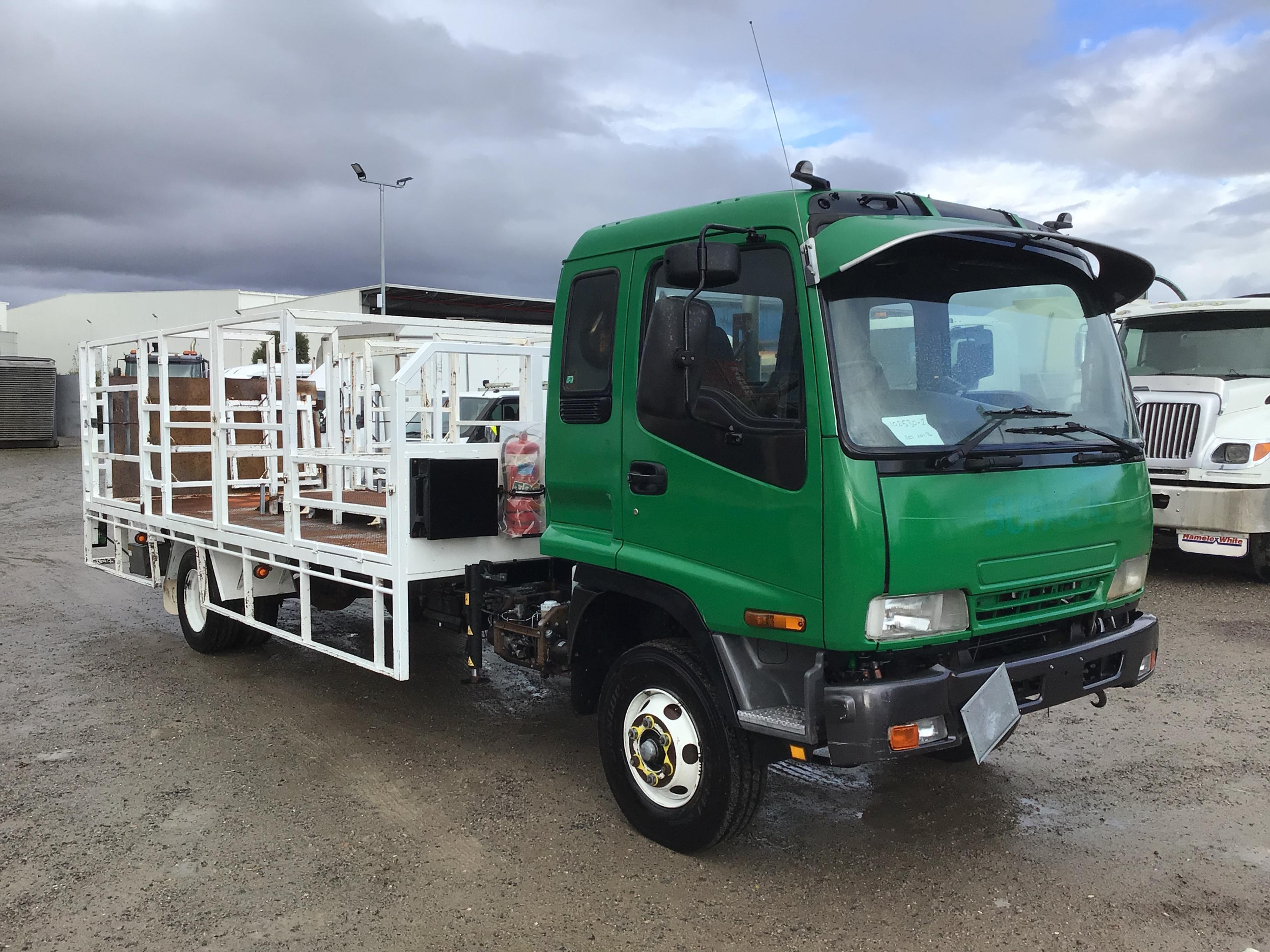 2007 Isuzu FRR 4 x 2 Tray Body Truck