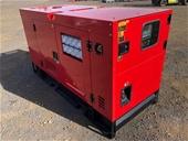 2021 Unused 60 & 40 kVA Diesel Generators - Toowoomba