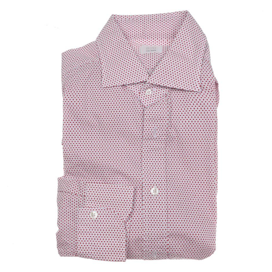 CALIBAN Men`s L/S Dress Shirt, Size 40 EU/ 15 3/4 UK, RRP $250, Cotton, Col