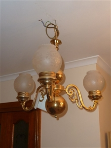 Hanging Pendant Light Fitting