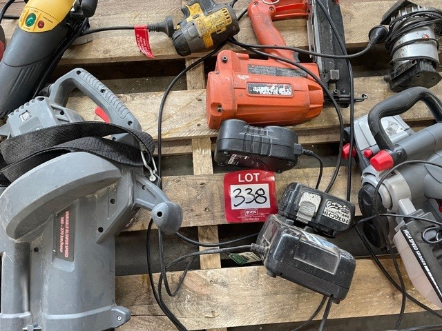 Pallet of Power Tools