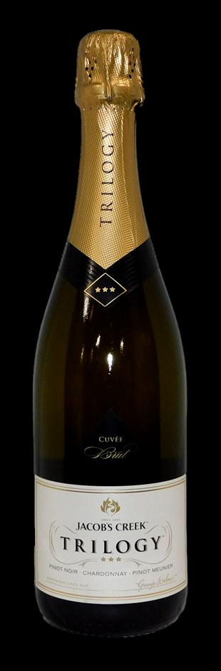 Jacobs Creek Trilogy Pinot Chardonnay Meunier Brut Cuvee NV (6 x 750mL), SA
