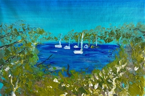Woolwhich point- Original paintedl artwo