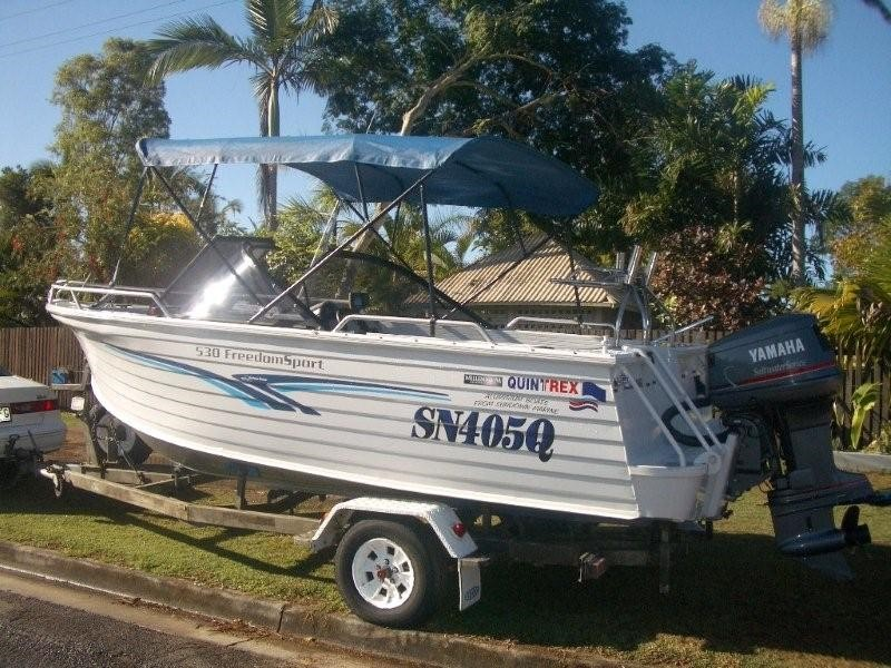 QUINTREX FREEDOM SPORTS 530 BOAT