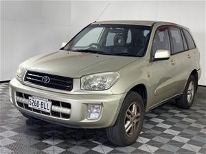 2003 Toyota Rav 4 Extreme Manual Wagon(W