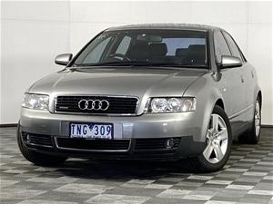 2002 Audi A4 1.8 Turbo Quattro B6 Manual