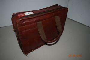 """Firt Designer"" All Leather Briefcase"
