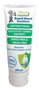 24 x Nano 59ml Antibacterial Rapid Hand