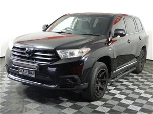 2013 Toyota Kluger KX-R (FWD) GSU40R Aut