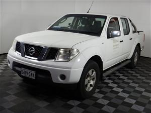 2007 Nissan Navara ST-X (4x4) D40 Turbo