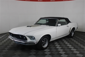 1969 Ford Mustang Automatic Convertible
