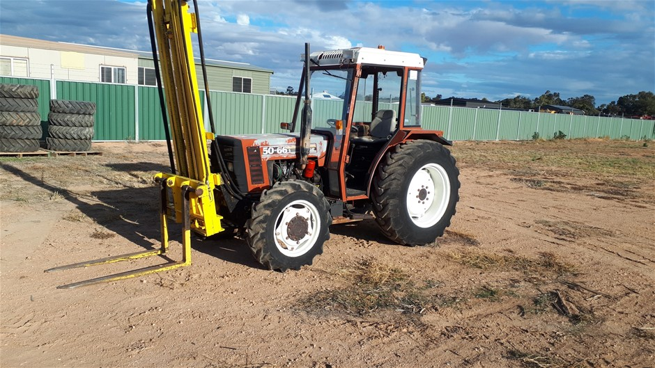 Fiat New Holland 50-66/12 Tractor