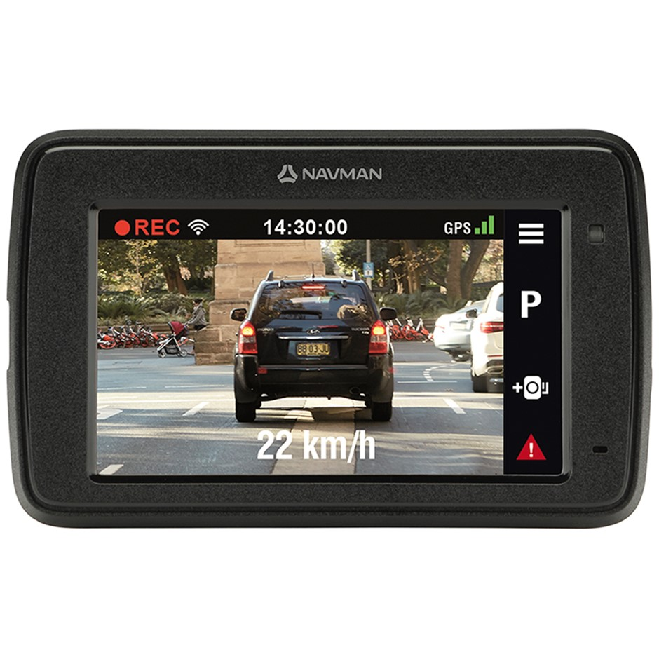 NAVMAN Mivue C500 Wi-Fi Dash Cam. N.B. May be missing accessories. Conditio
