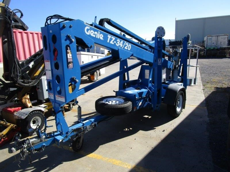 2018 Genie TZ-34 Boom Lift