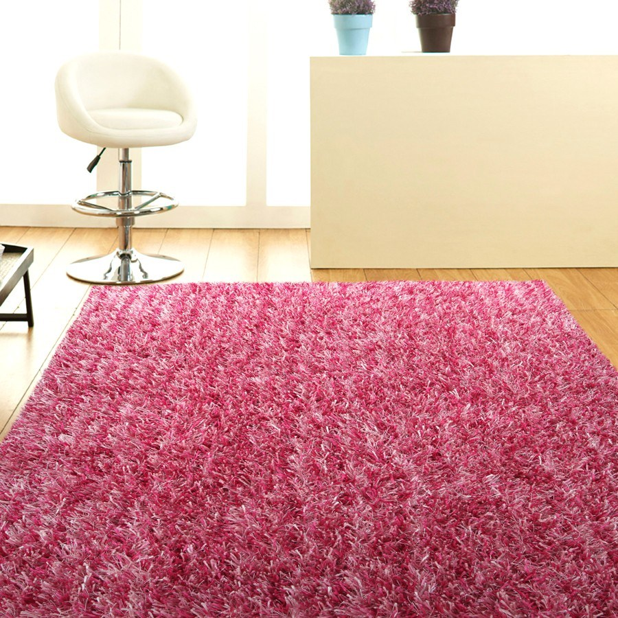 Hot Pink Throw Rug - Products