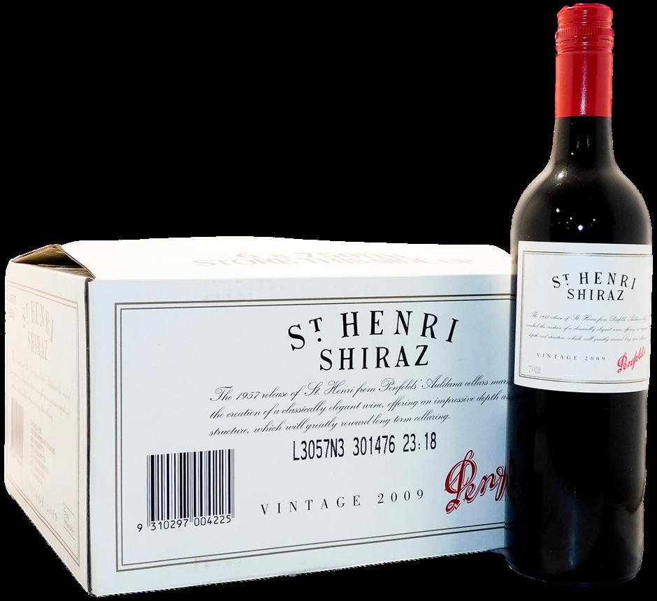 Penfolds St Henri Shiraz 2009 (6x 750mL), SA