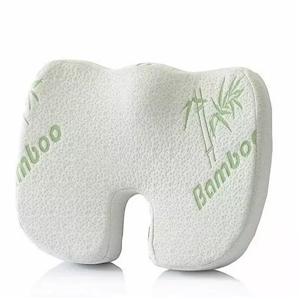 Bamboo Seat Memory Foam Cushion Hip Back