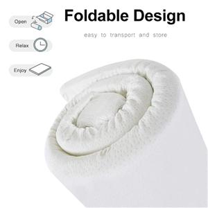 Double Size Memory Foam Mattress Topper
