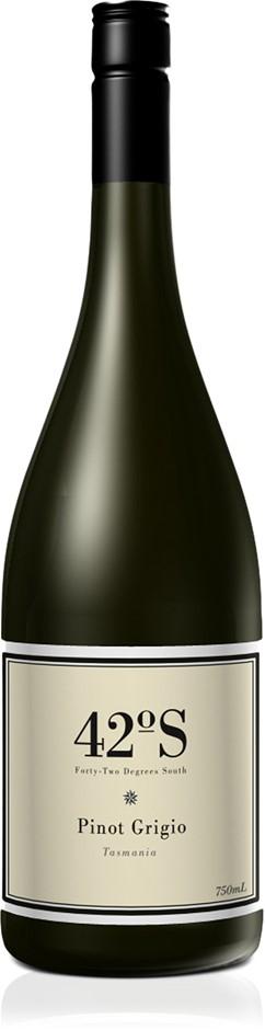 42 Degrees South Pinot Grigio 2021 (12x 750mL).