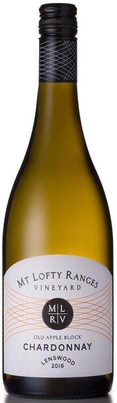 Mt Lofty Old Apple Block Chardonnay 2016 (12x 750mL). Adelaide Hills, SA