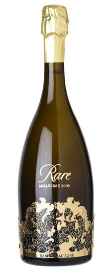 Piper Heidsieck Rare Millesime 2006 (3x 750mL), Champagne. France. Cork