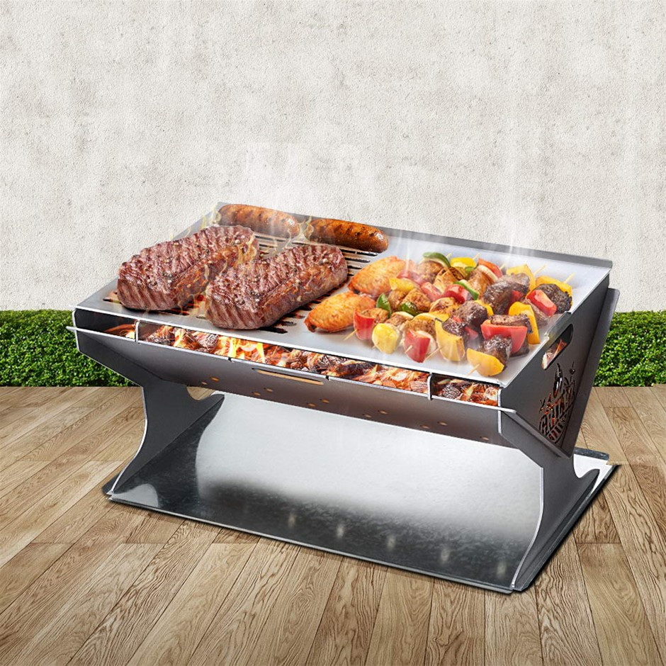 Grillz Fire Pit BBQ