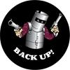 BUSHRANGER 81Z85L Back Up Ned Kelly Spare Wheel Cover, Black Buyers Note -