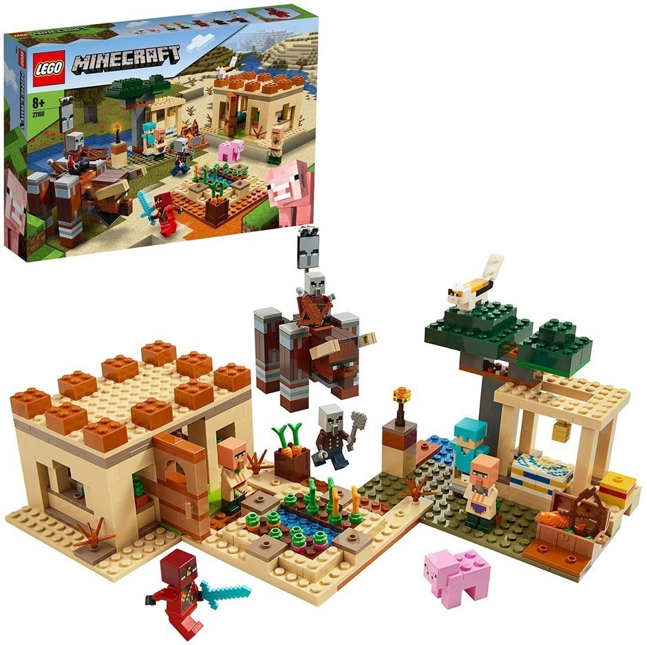 LEGO Minecraft The Villager Raid 21160 Building Toy. Buyers Note - Discount