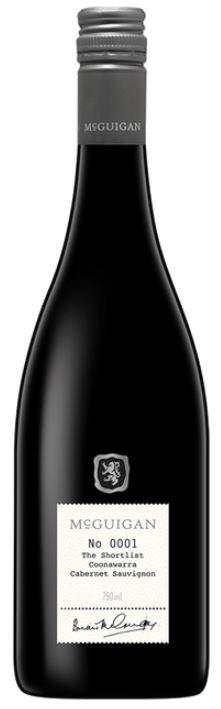 McGuigan Short List Cabernet Sauvignon 2016 (6 x 750mL) Coonawarra, SA