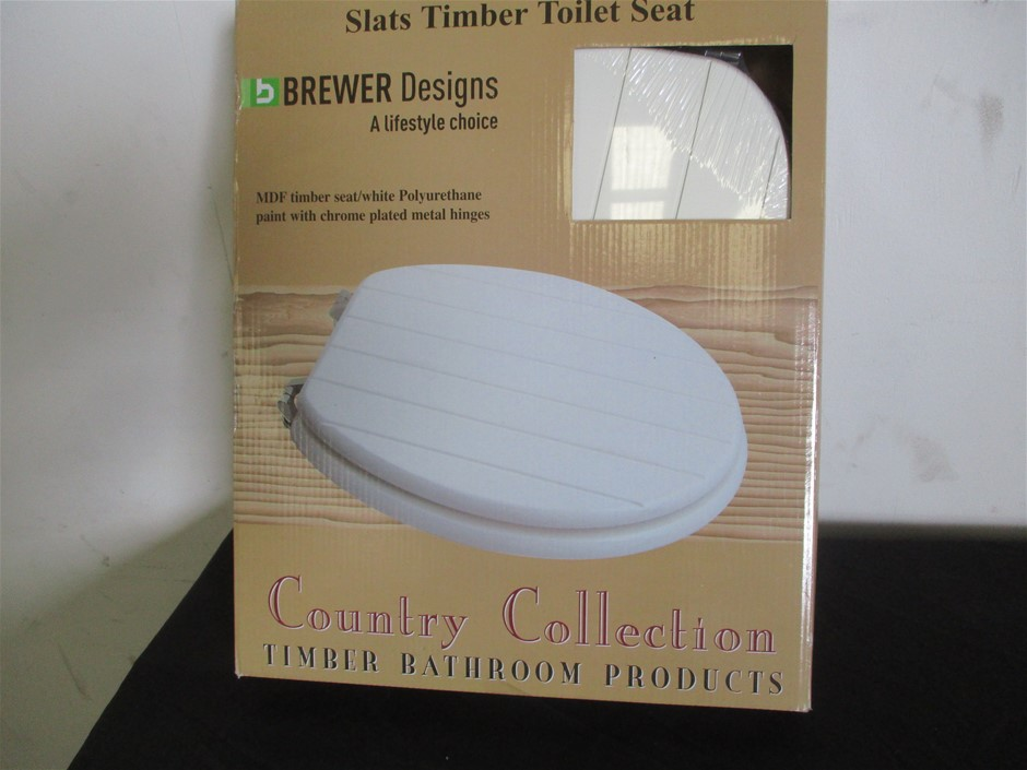 Brewers Slats Timber Toilet Seat