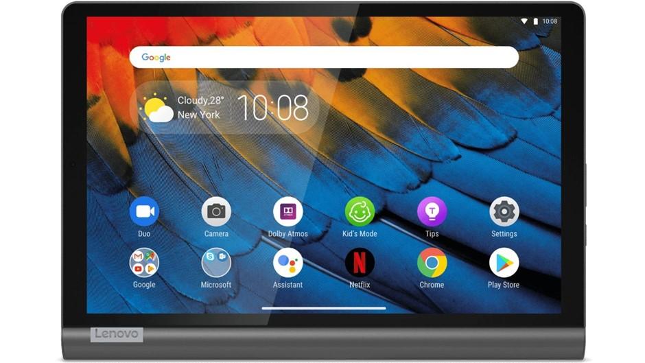 Lenovo 10.1-inch Yoga Smart 64GB Wi-Fi Tablet, Iron Grey