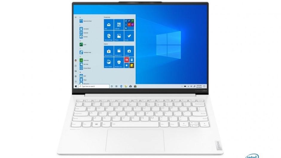 Lenovo Yoga Slim7 Carbon 13-ITL5 13.3-inch Notebook, White
